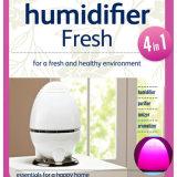 Épurateur Shaped d'humidificateur d'air d'oeufs de DEL