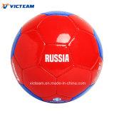 ODM футбола оптовой долговечности составной кожаный