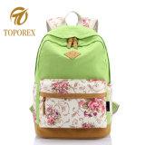 Красивый цветочный печати горячая продажа школьных Canvas рюкзак женская сумка с поездки