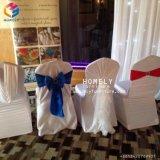Tampa da cadeira do casamento do banquete do hotel do Spandex para Hly-CV67 por atacado