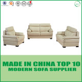 Muebles seccionales de cuero modernos de la sala de estar de los sofás del durmiente
