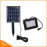 Luz de inundación accionada solar del reflector 20 LED del césped solar del jardín