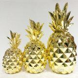 Оптовый изготовленный на заказ белый декор ананаса Artiificial поддельный