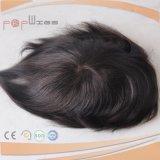 가득 차있는 레이스 인도 Virgin 머리 피스 Toupee (PPG-l-01377)