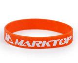 Индивидуальный логотип силиконовый браслет для спортивных программ в области конкуренции