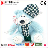 Teddybeer van de Pluche van het Stuk speelgoed van de bevordering de Gift Gevulde Dierlijke Zachte in Hoed