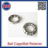 O bronze, alumínio, plástico POM, retentor de esferas de aço de nylon, compartimento da bola bucha para rolamentos, Aluguer de retentor