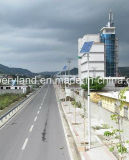 Alto Brilho 6m 30W iluminação solar para Village Project