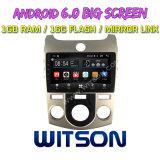 """Witson 9 """" Grote Androïde 6.0 Auto van het Scherm DVD voor KIA Forte (HAND a/c)"""