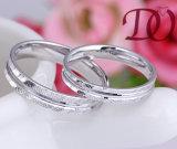 새로운 유럽 100% 925 순은 반지 교전 결혼식 보석