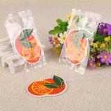 Impreso en papel colgantes Ambientador con aroma de naranja (YH-AF288)