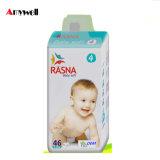 Fraldas Ultra-Thin confortáveis do bebê do tecido do bebê