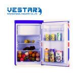 Mini congelador de Refrierator del vector con la sola puerta