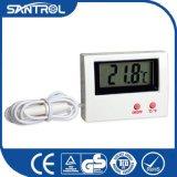 Thermomètre de la température d'aquarium d'affichage à cristaux liquides avec l'emballage boursouflé de carte