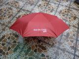 53.5cm Tri-Folded Publicité parapluie avec image de marque OEM