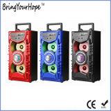 Bluetooth/SD/USB/Karaoke (XH-PS-713)를 가진 나무로 되는 물자 휴대용 Hi-Fi 스피커
