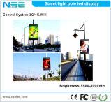 Visualizzazione di LED impermeabile del palo chiaro della via del Palo P10mm della lampada di via