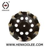 콘크리트를 위한 T 세그먼트 용접 컵 바퀴