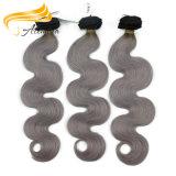 Оптовые индийские волосы Remy девственницы выдвижения человеческих волос