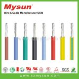 UL flexible del alambre del caucho de silicón y cable certificado VDE del silicón