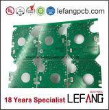2 camadas do PWB frente e verso da placa de circuito para o dispositivo de comunicação