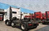 Sinotruk HOWO 원동기 T7h 트랙터 헤드 6X4 320HP 트랙터 트럭