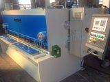 Máquina del esquileo del Nc de la máquina de la placa de aluminio hidráulica de QC11K que pela E21s para el metal de hoja