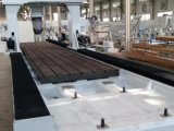 Parker CNC-Aluminium-klopfende Prägeausschnitt-Bohrung, die Bearbeitung-Mitte verlegt
