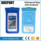 Cellule imperméable à l'eau universelle de cas/poche/sac secs de téléphone mobile