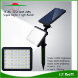 Le paysage de l'éclairage LED l'axe de la rue lumière solaire jardin extérieur lampe