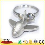 최신 판매 비행기 모양 열쇠 고리 금속 항공기 열쇠 고리