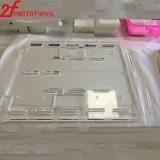 Les pièces mécaniques d'usinage CNC PMMA transparent PMMA acrylique haute poli ABS PMMA POM acrylique de pièces en plastique d'usinage CNC Peek OEM de haute précision