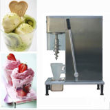 Máquina superior quente do gelado do redemoinho do aço inoxidável de tabela do Sell