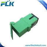 Adaptateur automatique optique uni-mode de duplex d'obturateur de fibre multimode de Sc/APC/Upc