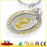 Catena chiave di marchio della moneta su ordinazione del metallo per il regalo promozionale