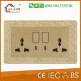 Zoccolo elettrico dell'interruttore della cucina della parete di alta qualità