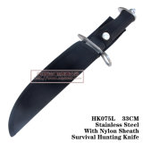 As facas de caça de Lâmina Fixa a Ferramenta de sobrevivência Camping Tools 33cm