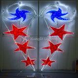 Flying of star 2D Motif Light for Street Decoration
