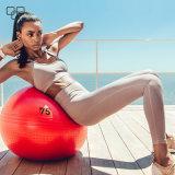 新しい実行中のスポーツの摩耗は優雅な伸縮性がある通気性のスポーツのヨガのズボンの女性の着く