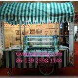 Os carros de Xishifeng Foshan Popcycle/gelo de Malawi Cram o carro