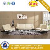 Casa de moda la combinación de cuero Muebles de Comedor Sofá (HX-8N2199)