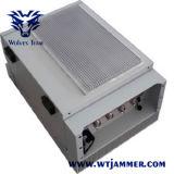 Wasserdichte justierbare hohe Leistung G/M CDMA 3G 4G WiFi GPS passen Frequenz-Signal-Telefon-Hemmer an