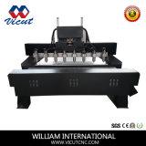 목공 테이블 움직임 CNC 다중 회전하는 목제 대패 기계