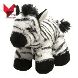 Brinquedo macio da zebra do luxuoso dos presentes relativos à promoção