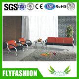 Высокое качество провод фиолетового цвета кожи управление комната ожидания диван (В-39)