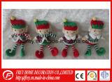 Cadeau mou de jouet d'elfe de peluche pour Chritmas