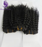 Kinky Curly Virgin Remy humanly Hair Weft