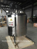 Creuset de chauffage de 200 litres de sucre électrique d'acier inoxydable