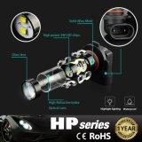 Extremamente brilhante Max 50W H10 9145 de alta potência das lâmpadas de LED para DRL ou luzes de nevoeiro, Branco com lâmpadas de xénon