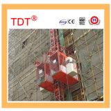 Подъем здания пассажира Tdt в строительной площадке